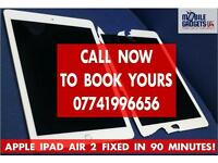 Instant Apple iPad LCD Touch Screen Repair Service in Birmingham iPad 2 3 4 Mini Mini3 Mini4 Air Pro
