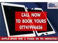 Instant Apple iPad LCD Touch Screen Repair Service in Birmingham iPad 2 3 4 Mini Mini3 Mini4 Air Pro
