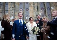 Professionally trained wedding photographer in the North East