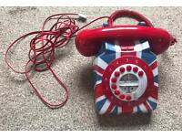 RETRO Union Jack NEXT house phone