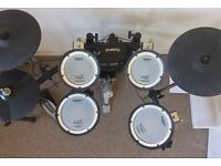 Roland TD4 electric drum kit (inc. drum stool)