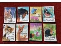 8 rare vintage mini books