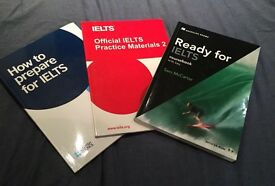 Books for a successful IELTS test