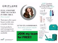Join Oriflame Cosmetics for FREE, Work from home, FREE Personal Beauty Store