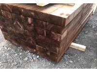 🌷Tanalised Timber Sleepers // Brown * £18.00
