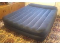 """INTEX """"King Size"""" Air Bed with built in mains electric pump. User manual included"""