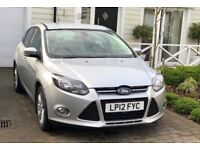 2012 FORD FOCUS 1.6 TDCI TITANIUM 5DR - £20 ROAD TAX - FULL FORD SERVICE HISTORY