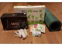 Nintendo WiiFit Plus with Sports Resort & Balance Board.