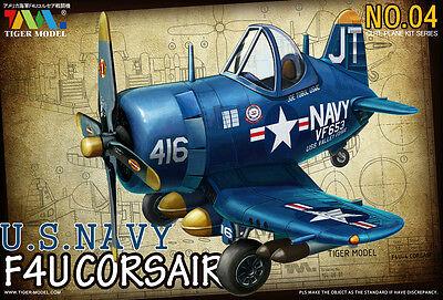Tiger Model #104 Cute Series WWII U S Navy F4U Fighter