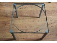 Glass & Metal Coffee Table