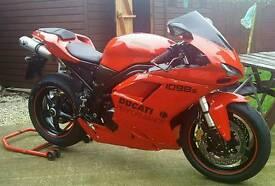 Triumph daytona 995i (tricati/ducati 1098 custom one off bike) 848 cbr zxr gsxr ktm may swap