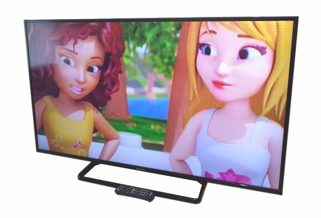 "PANASONIC 50"" LED TV 1080P FULL HD / LAN CONNECTION USB ETC"