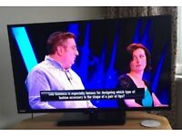 """FANTASTIC 40"""" LED FULL HD TV, HDMIs, built in FREEVIEW, remote ! FULLY WORKING ! VERY GOOD COND. !"""