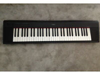 Yamaha Piaggero NP-11 keyboard