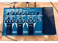 Boss ME-50 Multi Effects Guitar Processor Pedal