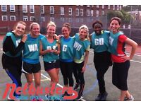 New teams and individuals wanted for intermediate netball league in Brixton