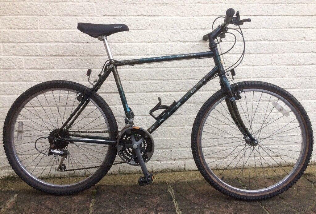 Raleigh Amazon Retro Mountain Bike / Hybrid - Fully Serviced | in ...