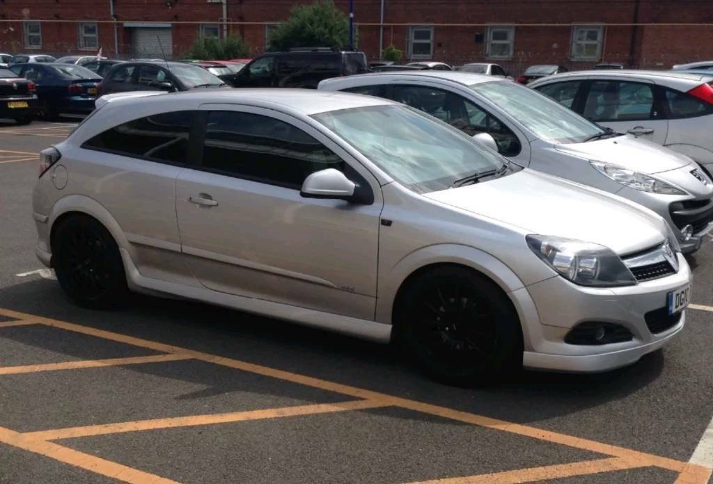 2010 Vauxhall Astra 1 8 Sri Silver Exterior Pack Modified Lowered One Of A Kind In