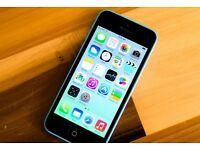 iPhone 5c - 16 GB - Blue - (Unlocked) - Excellent Condition
