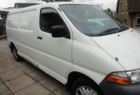 TOYOTA HIACE PANEL VAN, 2.4 DIESEL 2000 MODEL