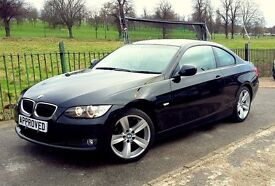 BMW Coupe 325i, BLACK, LEATHER, LOW PRICE, CHEAP, HI-PERFORMANCE, SUPERB CONDITION, EXCELLENT DRIVE