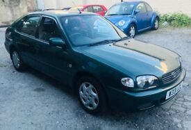 2000 TOYOTA COROLLA 5DR -:- TESTED -:- £395