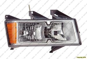Head Lamp Passenger Side Xtreme With Chrome Bezel High Quality Chevrolet Colorado 2005-2008