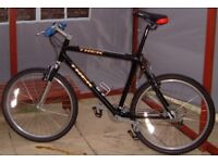24 speed Trek 6000 bike/bicycle, ajustable front suspension. refurbished, bargain