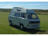 4-berth T25 VW campervan