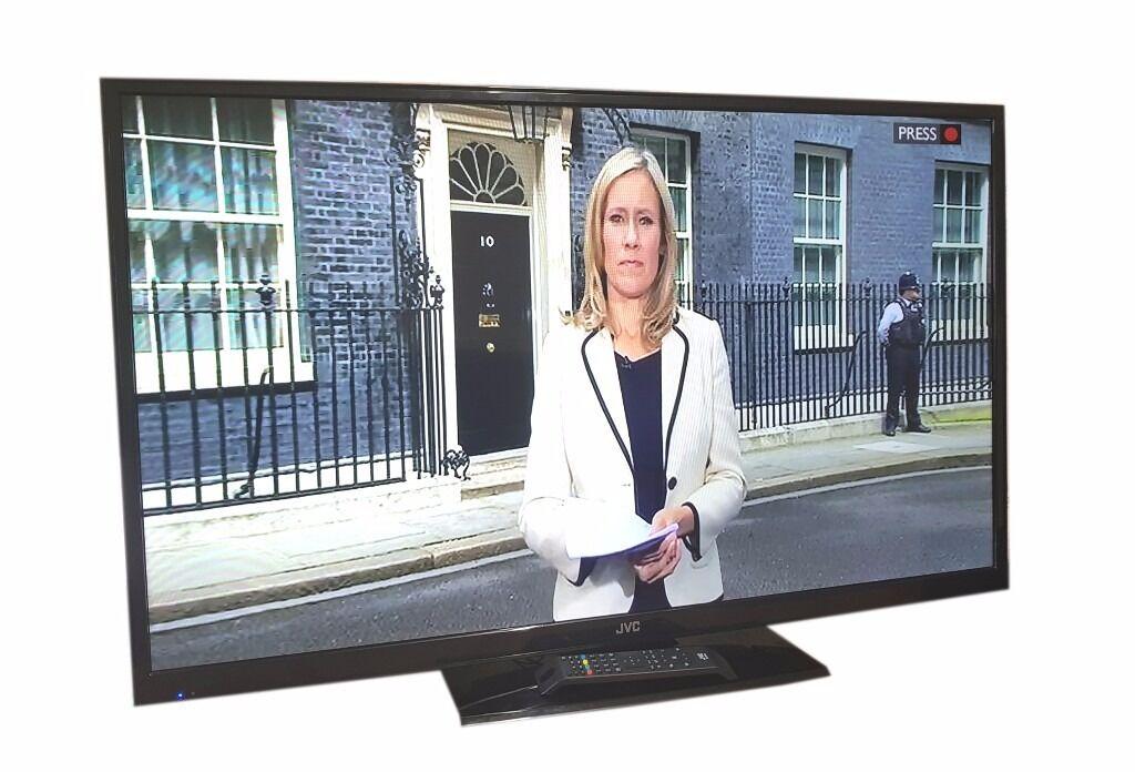 """JVC 50"""" LED TV 1080P FULL HD TV / USB, HDMI, LAN PORT"""