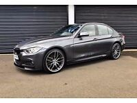 2014 BMW 318D M SPORT *PERFORMANCE KIT* MINERAL GREY F30 FINANCE AVAILABLE