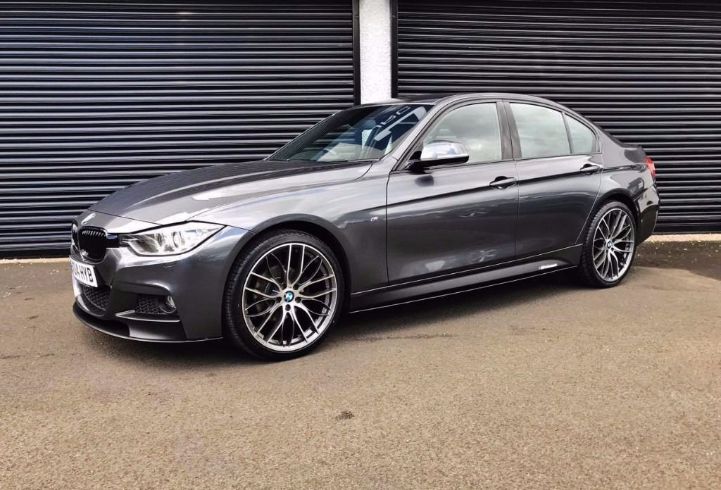 2014 bmw 318d m sport performance kit mineral grey f30 finance available in cullybackey. Black Bedroom Furniture Sets. Home Design Ideas