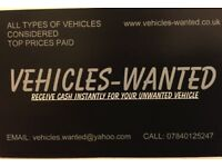 VEHICLES-WANTED
