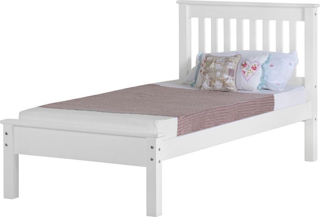 New White Wooden Single Bed Pic 1 Only 119 Available Immediately Open Sunday 1 3pm In Belfast City Centre Belfast Gumtree
