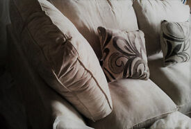 New. Corner Sofa. Fabric