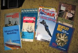 SELECTION OF MODEL MAKING BOOKS