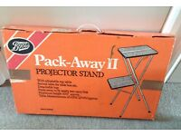 Vintage Boots Pack Away 11 Projector Stand