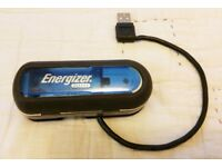 ENERGIZER RECHARGEABLE USB AA/AAA BATTERY CHARGER