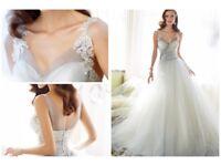 Sophia Tolli Nightingale wedding dress new (ex sample) size 12