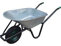 New Wheelbarrow 90L 200kg capacity garden builder wheelbarrow heavy duty metal