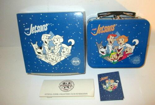 VINTAGE 1993 THE JETSONS FOSSIL WATCH W/LUNCH BOX+ASTRO PIN LTD ED 4133/15K NIB
