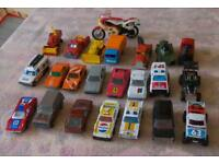 23 Vintage Toy Cars and Motorbike
