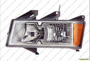 Head Lamp Driver Side Xtreme With Chrome Bezel High Quality GMC Canyon 2005-2008
