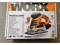 Electric sander WORX model WX640.1 V. good condition. £25
