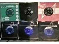 1960s Vinyl singles, sonny &Cher,Chubby Checker,Monkees