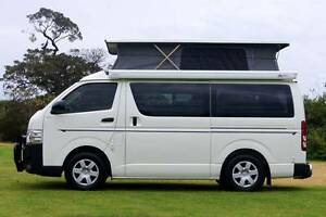2016 Toyota Hiace Automatic Frontline Campervan – Very Low Km Albion Park Rail Shellharbour Area Preview