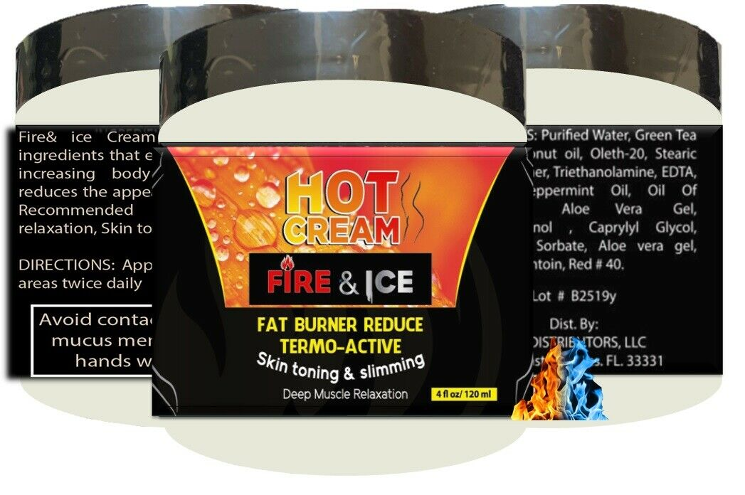 For Body Naturals Hot Cream for Cellulite Reduction Skin Toning and Slimming