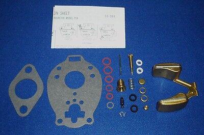 Used, Fits Lincoln Welder Sa-200 Redface Shorthood MARVEL SCHEBLER TSX Carburetor Kit for sale  Dallas
