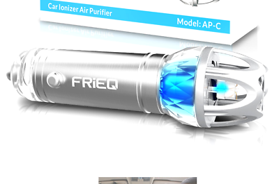 FRiEQ Car Air Purifier, Car Air Freshener and Ionic Air Puri