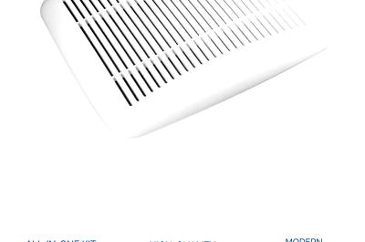 Broan 690 Upgrade Kit Accessory Exhaust Fan; White